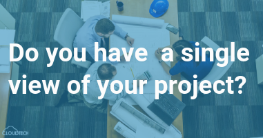 Do you have a single view of your project?