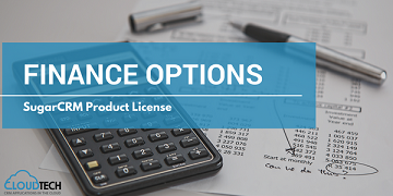 Finance options for SugarCRM product license.
