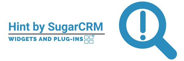 SugarCRM Widgets and Plug-ins,Hint.