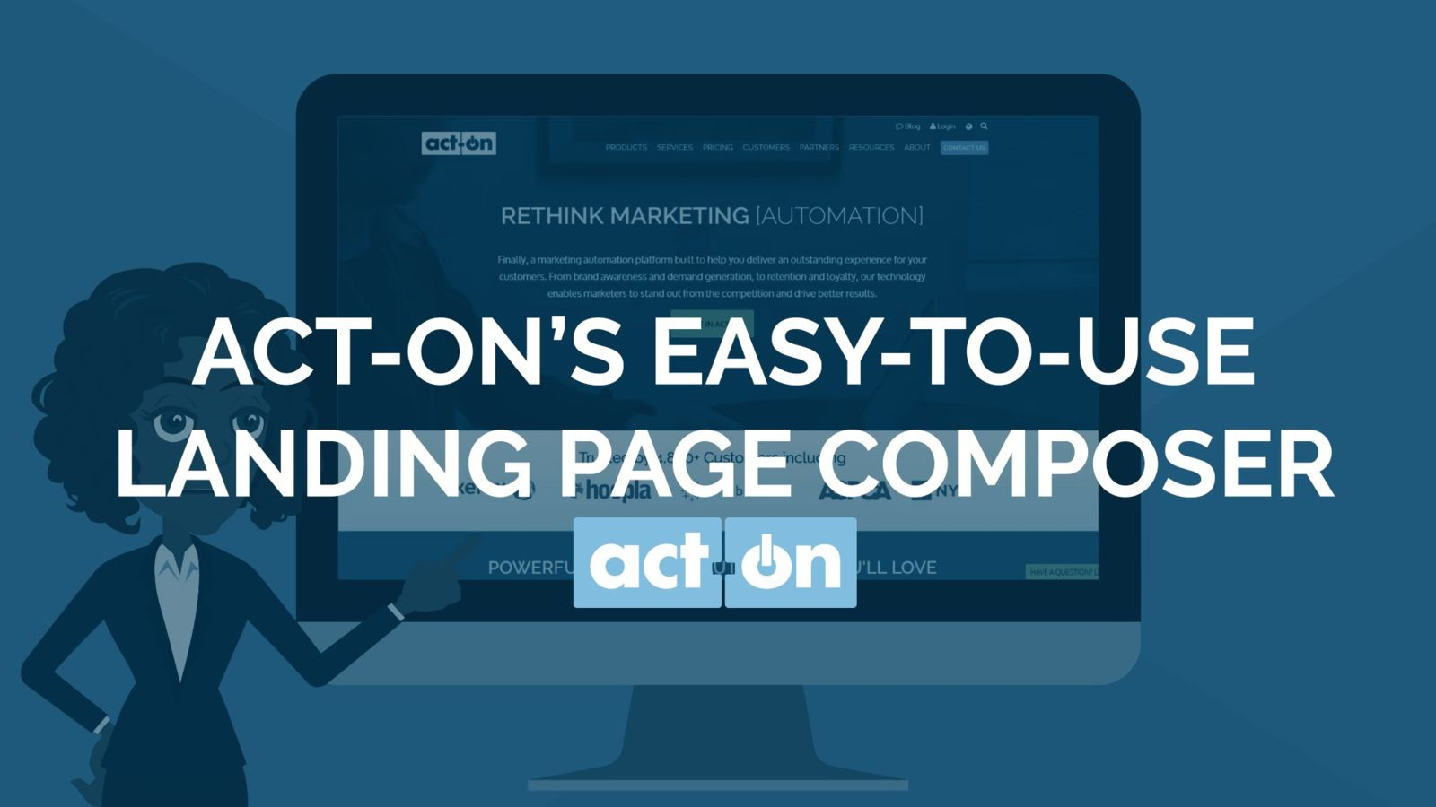Act-On landing page and form composer.